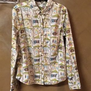 Anthropologie Odille Camping Blouse-6